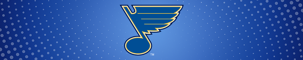 St. Louis Blues Checking account with a Blues logo debit card