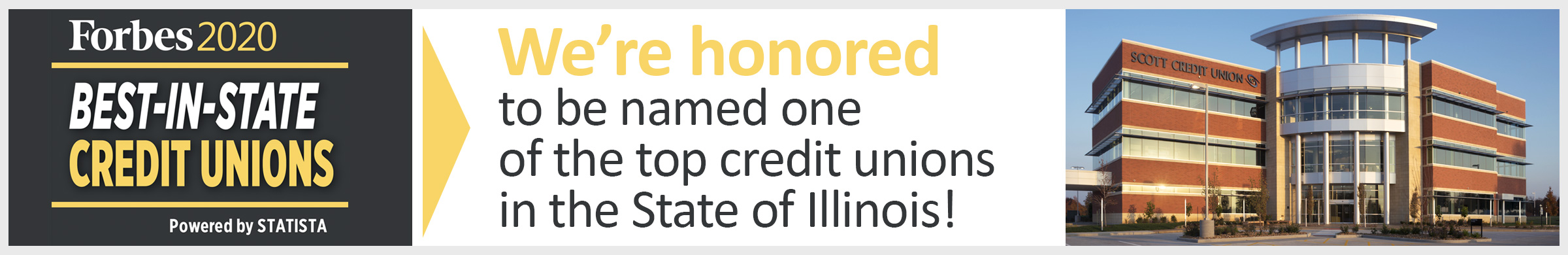 Forbes Award for Best In-State Credit Union