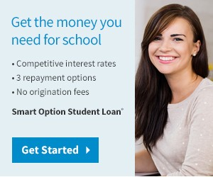 Get the money you need for school with Sallie Mae Smart Option Student Loans
