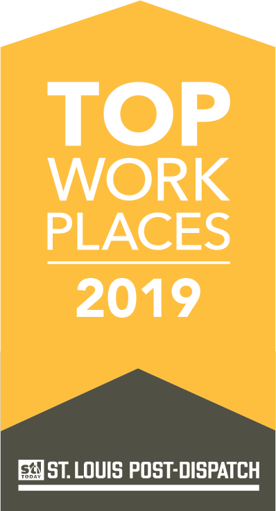 St. Louis Post-Dispatch Top Workplace for 8 consecutive years!