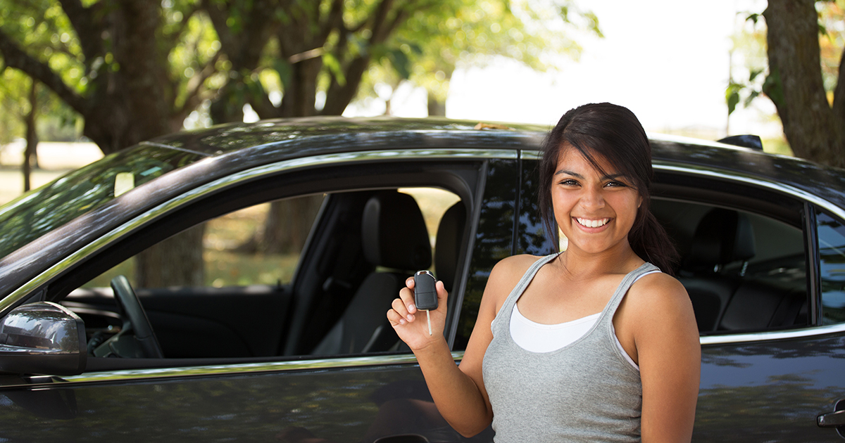 What are the risks most teens in a car