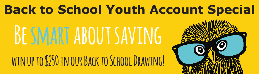 Back to School Youth Account Special