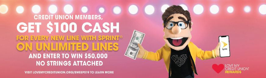 Sprint Rewards introduction image, details listed in text below.