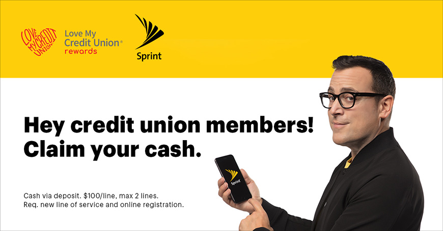 Scott Credit Union members can get $200 cash from Sprint!