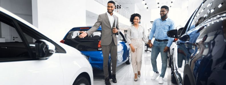 Car Dealer Offering Zero Percent Financing